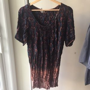 UO Ombré Paisley Tunic Dress